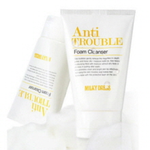 MILKY DRESS Anti Trouble Foam Cleanser 100ml,MILKY DRESS