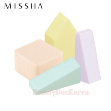 MISSHA Fresh Colorful Makeup Sponge 25pcs,MISSHA