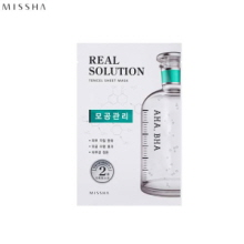 MISSHA Real Solution Tencel Sheet Mask 25g,MISSHA