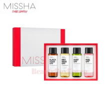 MISSHA Super Off Cleansing Oil Special Set 4items,MISSHA