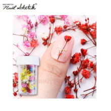 NAIL SKETCH Real Flower Gypsophila Preserved 1ea,NAIL SKETCH