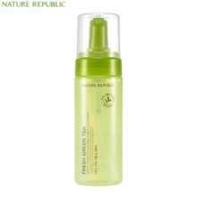 NATURE REPUBLIC Fresh Green Tea Bubble Deep Cleanser 150ml,NATURE REPUBLIC