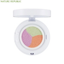 NATURE REPUBLIC Nature Origin Triple Color Tone up Cushion 15g,NATURE REPUBLIC