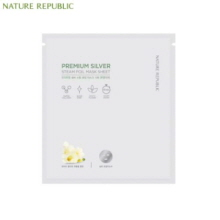 NATURE REPUBLIC Premium Silver Steam Foil Mask Sheet 30g,NATURE REPUBLIC