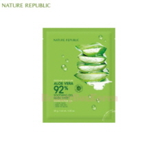 NATURE REPUBLIC Soothing & Moisture Aloe Vera 92% Soothing Gel Mask Sheet 30g,NATURE REPUBLIC
