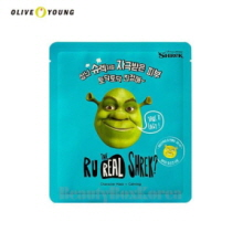 OLIVEYOUNG Dreamworks R U Real Shrek Mask 13g,OLIVE YOUNG