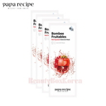 PAPA RECIPE Bombee Fruitables Squeeze Mask 25g*10ea,PAPA RECIPE