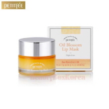 PETITFEE Oil Blossom Lip Mask Sea Buckthorn Oil 15g,PETITFEE