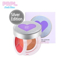 PRPL Kiss & Heart Cushion 1.5g*3+10g [Silver Edition],PRPL