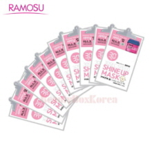 RAMOSU Shine Up Mask 2ml+1sheet *10ea,RAMOSU