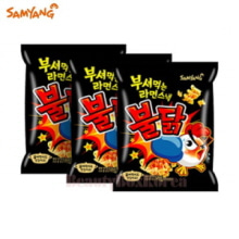 SAMYANG Breaking Ramen Snack Roast Chicken 90g*3ea,SAMYANG