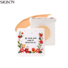 SKIN79 Face Fit Silk Concealer Pact SPF50+ PA+++ 12g,SKIN79