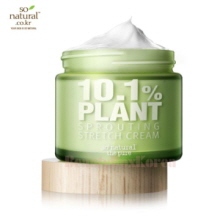 SO NATURAL 10.1% Plant Sprouting Stretch Cream 70ml,SO NATURAL