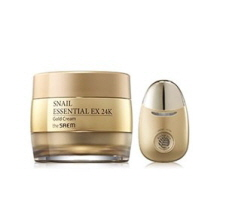 THE SAEM SNAIL ESSENTIAL EX 24K GOLD Cream SET,THE SAEM