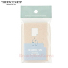 THE FACE SHOP Daily Beauty Tools Oil Bloting Films 50pcs,THE FACE SHOP