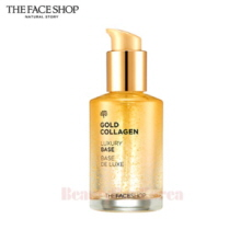 THE FACE SHOP Gold Collagen Luxury Base De Luxe 50ml,THE FACE SHOP
