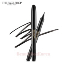 THE FACE SHOP Gold Collagen Marker Pen Eyeliner 1ml (01 Black),THE FACE SHOP