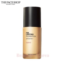 THE FACE SHOP Ink Lasting Foundation Slim Fit SPF30 PA++ 30ml,THE FACE SHOP