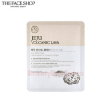 THE FACE SHOP Jeju Volcanic Lava Clay Face Mask 18g,THE FACE SHOP