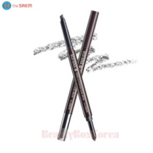 THE SAEM Eco Soul Pencil & Powder Dual Brow 0.3g+0.5g,THE SAEM