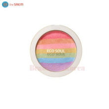 THE SAEM Eco Soul Rainbow Blusher 8g,THE SAEM