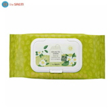 THE SAEM Healing Tea Garden Green Tea Cleansing Tissue 60ea,THE SAEM