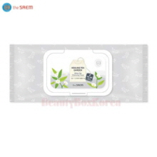THE SAEM Healing Tea Garden white tea Cleansing Tissue 60ea,THE SAEM