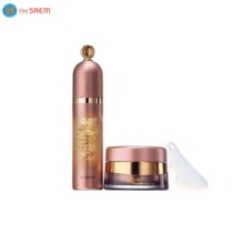 THE SAEM Sooyeran Wild Ginseng Cell Culture Ampoule Essence Set 55g,THE SAEM