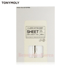 TONYMOLY 5-Layer Cotton Sheet 400pcs,TONYMOLY