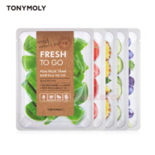 TONYMOLY Fresh To Go Mask Sheet 22g*10ea,TONYMOLY