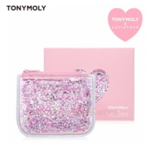 TONYMOLY Love Is True Glitter Mini Pouch Wallet 1ea,TONYMOLY