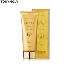 TONYMOLY Luxury Gem Gold 24K Mask 100ml,TONYMOLY