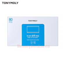 TONYMOLY Pure Cotton Sheet 80ea,TONYMOLY