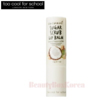 TOO COOL FOR SCHOOL Coconut Sugar Scrub Lip Balm 3.4g,TOO COOL FOR SCHOOL