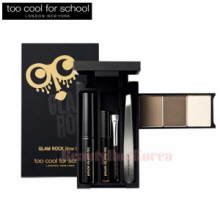 TOO COOL FOR SCHOOL Glamrock Brow Box 1.2g*3 + 2.2ml + 0.45g,TOO COOL FOR SCHOOL