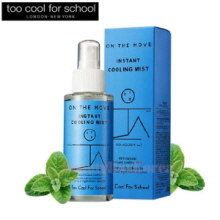 TOO COOL FOR SCHOOL On The Move Instant Cooling Mist 100ml,TOO COOL FOR SCHOOL