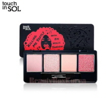 TOUCH IN SOL Killing Me Softly With Eye Holic Shadow 2g*4ea,TOUCH IN SOL