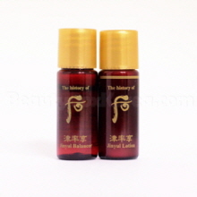 [mini]The History of Whoo Jinyul Balancer 6ml & Jinyul Lotion 6ml Set,THE HISTORY OF WHOO