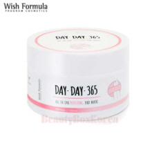 WISH FORMULA Day Day 365 All In One Boosting Pad Mask 120ml*28Pads,Wishformula