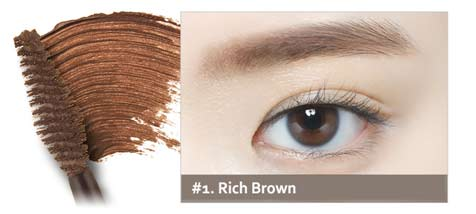 78691abc86c ETUDE HOUSE Color My Brows - Rich Brown: For dark hair color such as black  or dark brown.