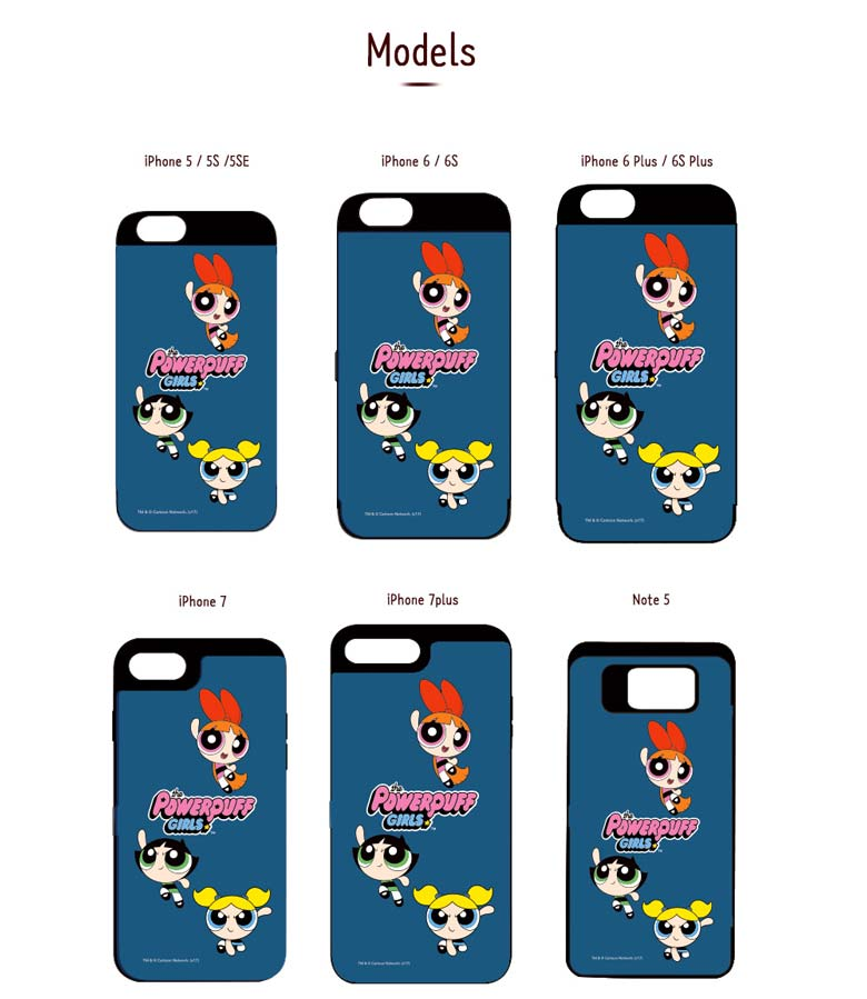 super popular 1affc 635ea Beauty Box Korea - MADEWELL-CASE Power Puff Girls Card Bumper Phone ...