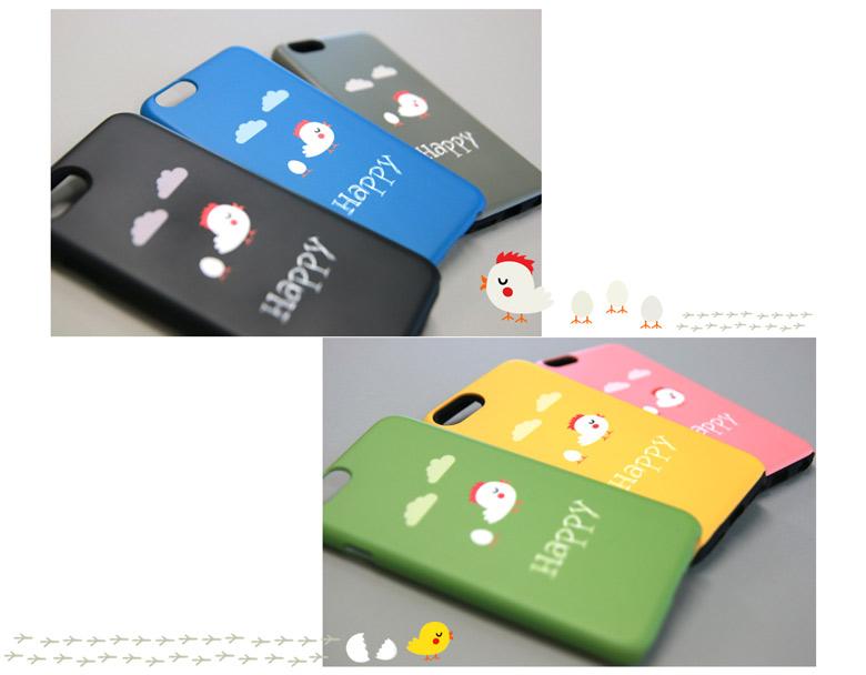 Beauty Box Korea - MYPOP 6Items Happy Chick Hard Phone Case | Best