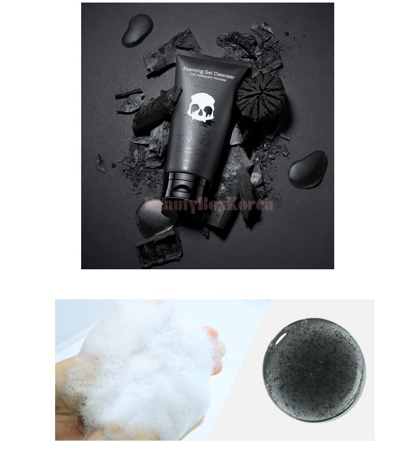 Beauty Box Korea - TOO COOL FOR SCHOOL Black Foamneza 150ml | Best