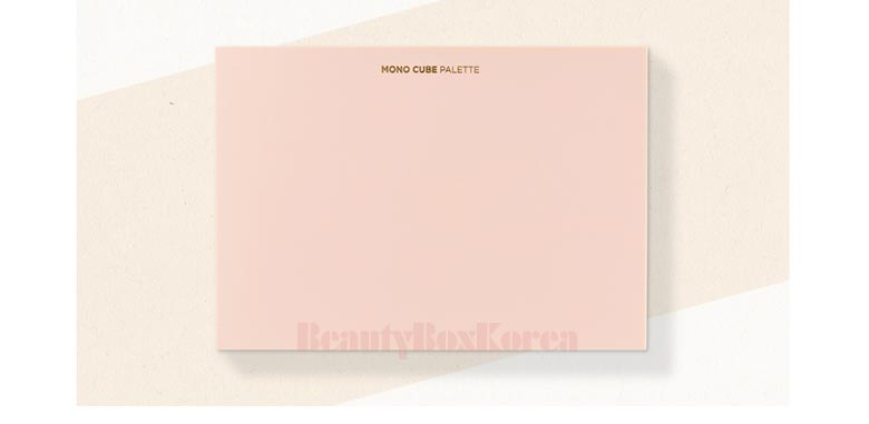 Beauty Box Korea - THE FACE SHOP Mono Cube Shadow Palette 1ea