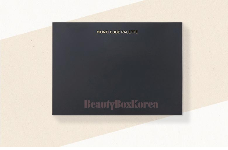 Beauty Box Korea - THE FACE SHOP Mono Cube Shadow Palette 1p (6holes