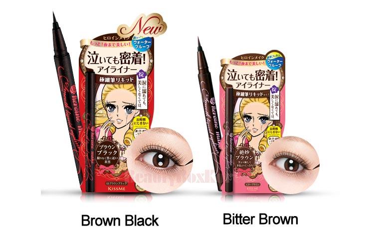e469e670a38 Beauty Box Korea - KISS ME Heroin Make Smooth Liquid Eyeliner ...