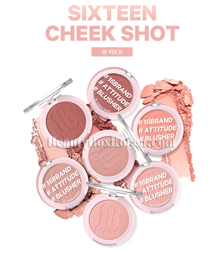 Beauty Box Korea 16brand Sixteen Cheek Shot 6g Best Price And