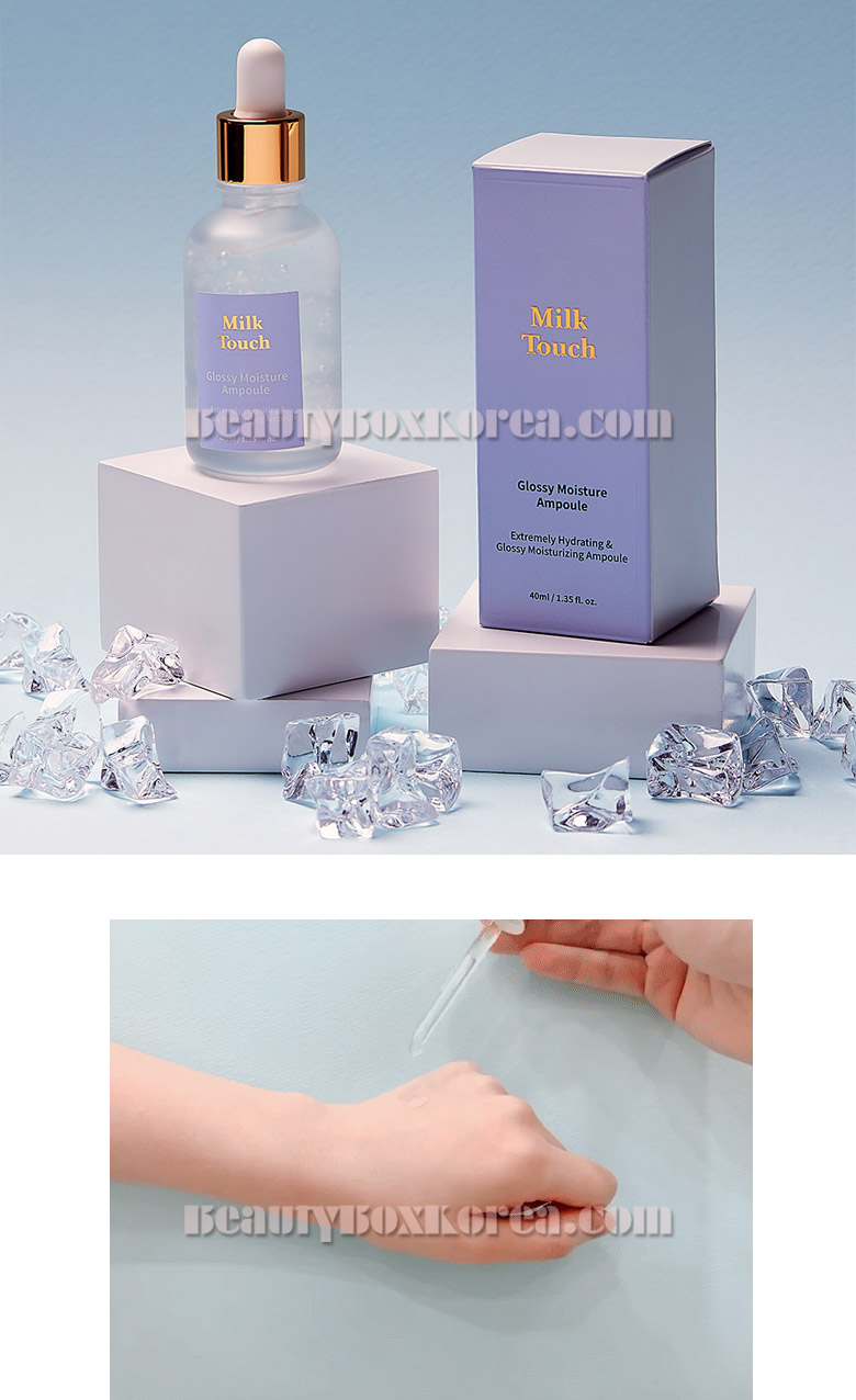 Beauty Box Korea - MILK TOUCH Glossy Moisture Ampoule 40ml