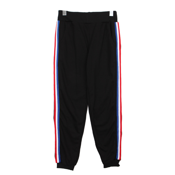 Three color training pants