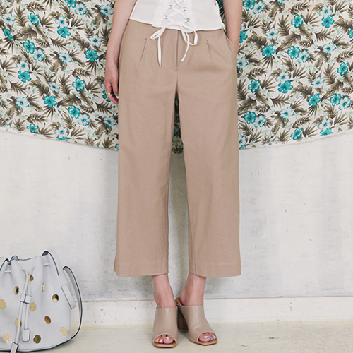 Dabagirl Cropped Wide Leg Pants